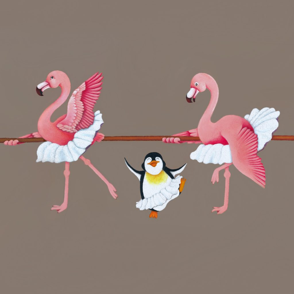 'Ballerina Birds' by Kera Bruton