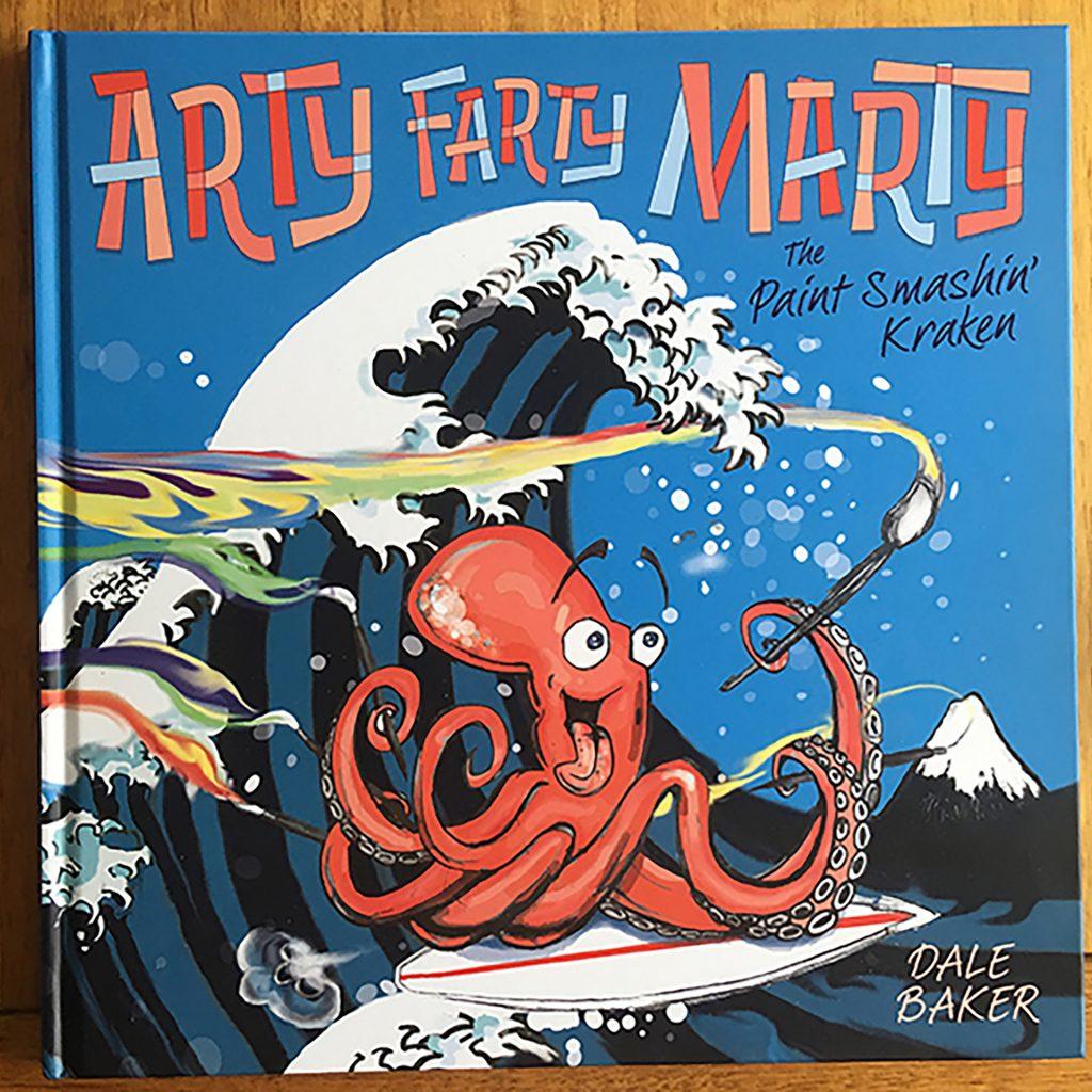'Arty Farty Marty' by Dale Baker