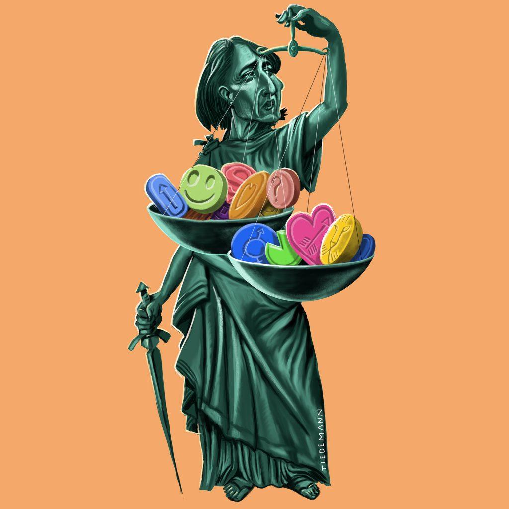Justice Berejiklian by John Tiedemann