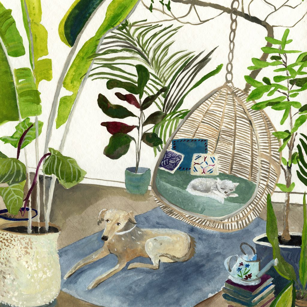 'The Room Of Relaxation' by Alicia Rogerson