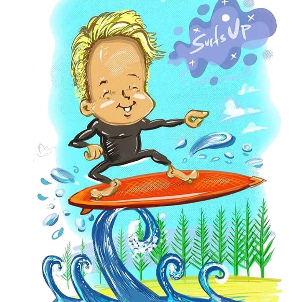 'Surfer' by Dale Baker