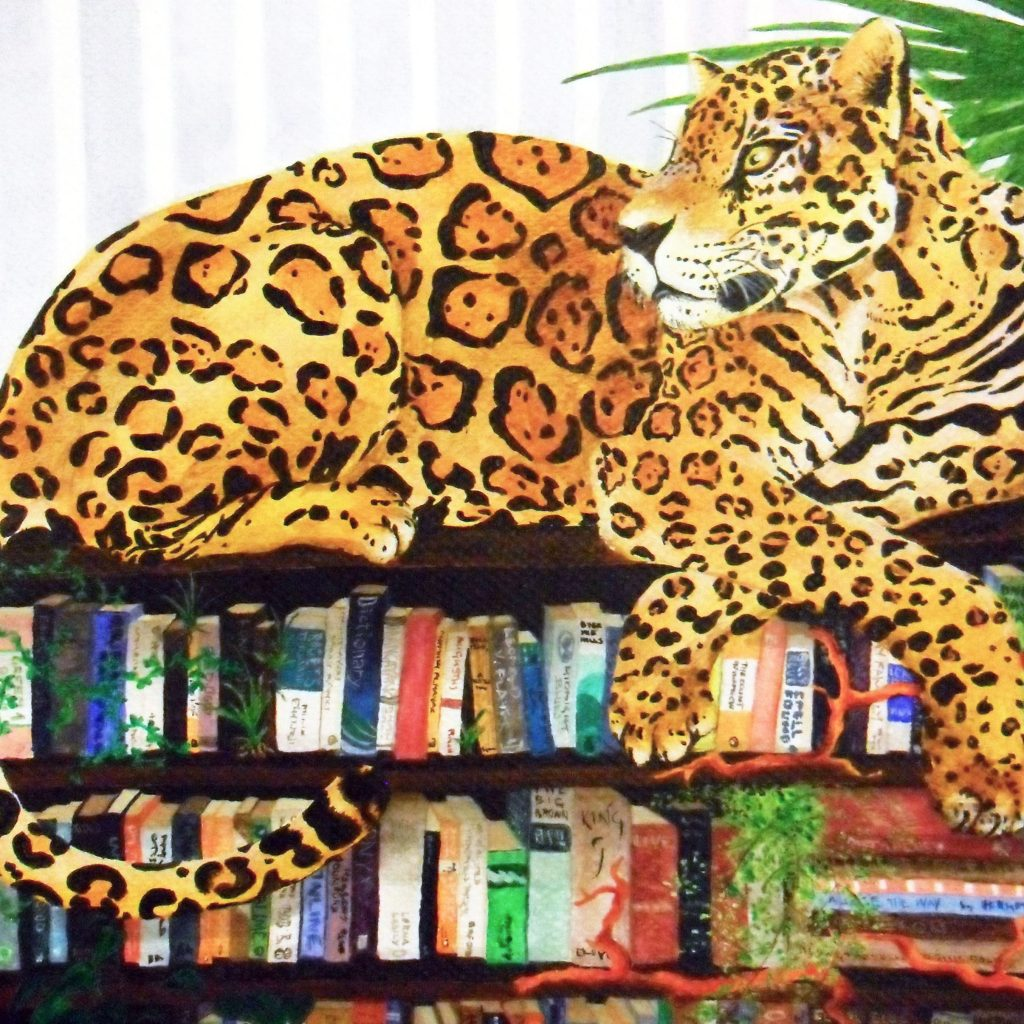 'Bookshelf' by Susannah Crispe
