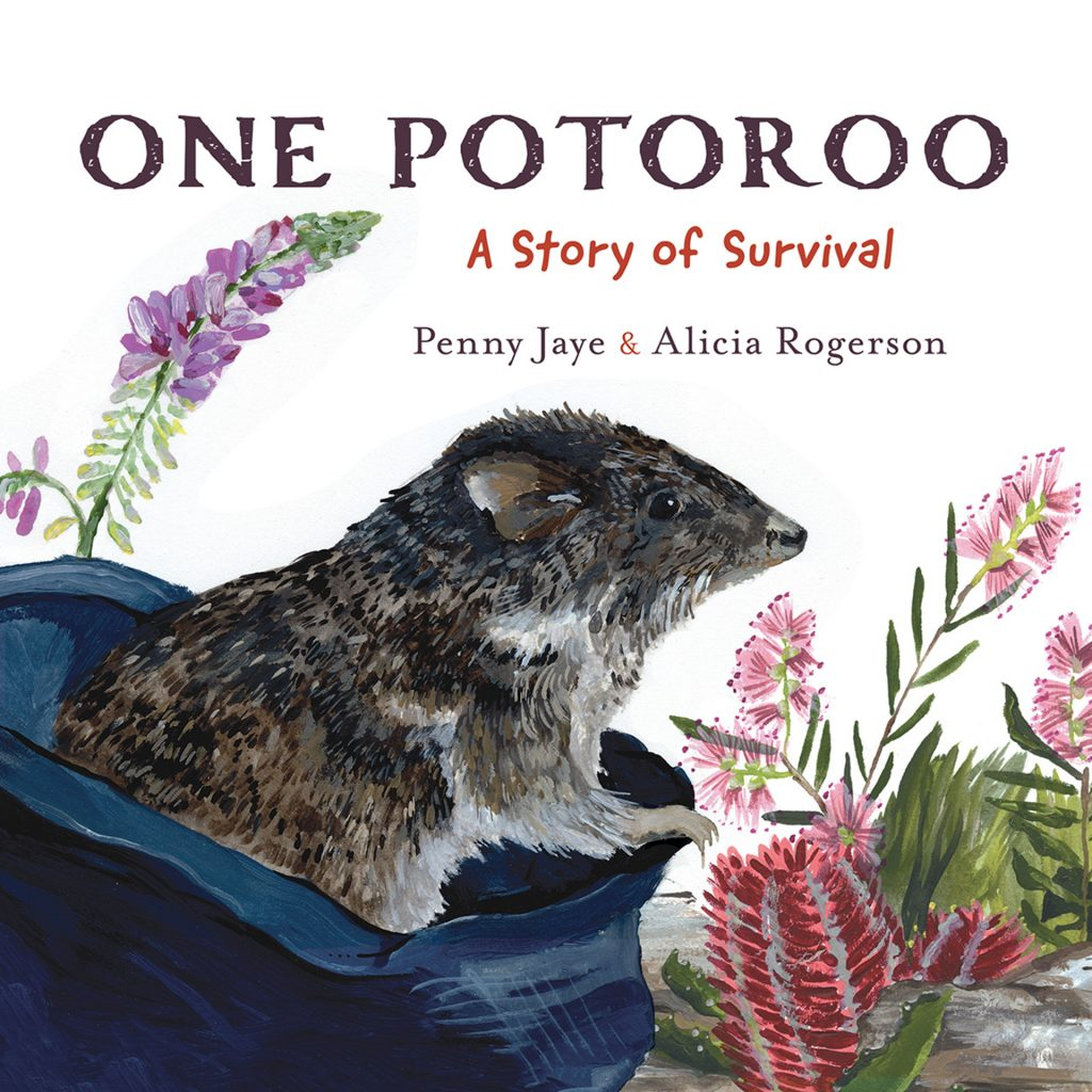 'One Potoroo Cover' by Alicia Rogerson