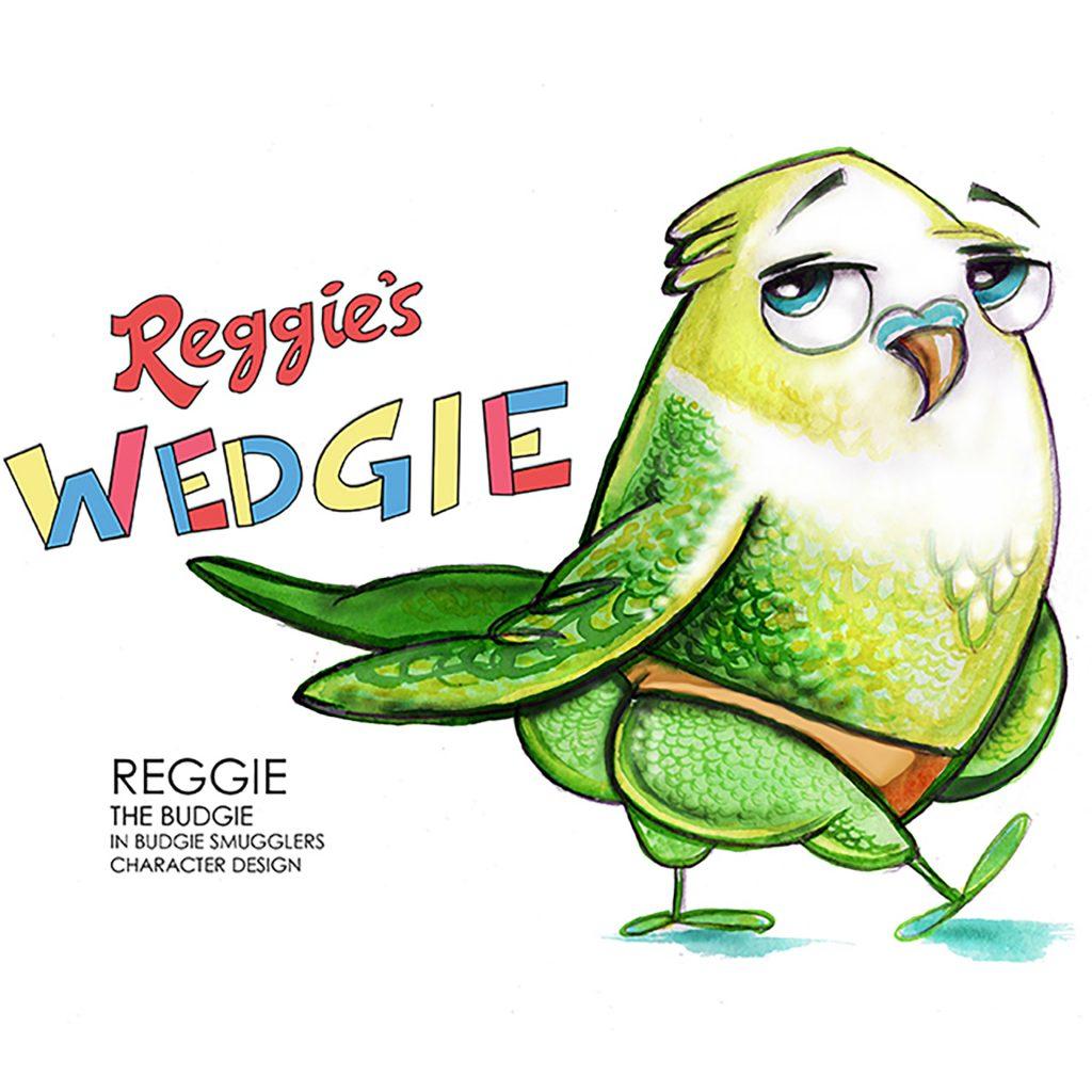 'Reggie' by Dale Baker