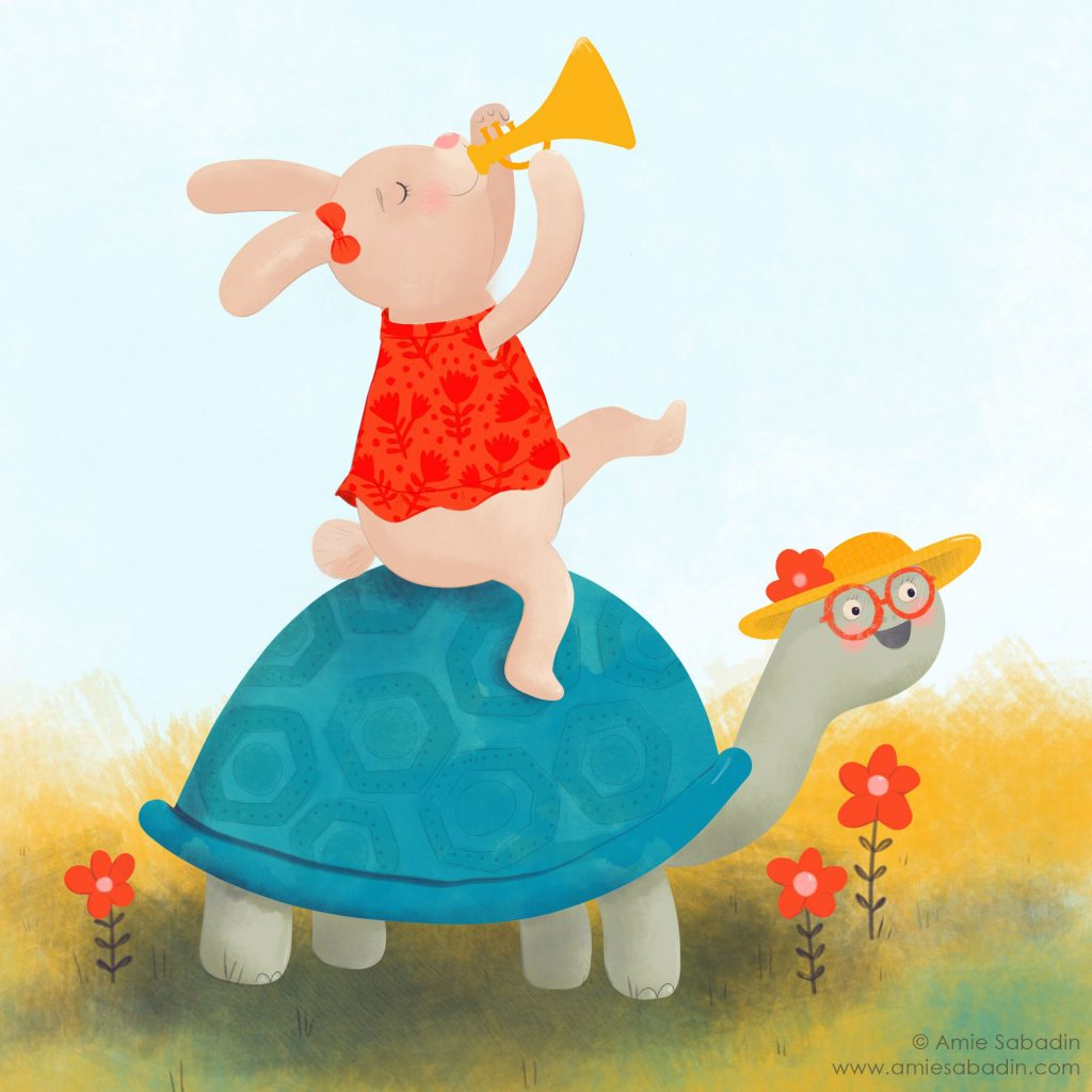 'The Rabbit and the Turtle' by Amie Sabadin