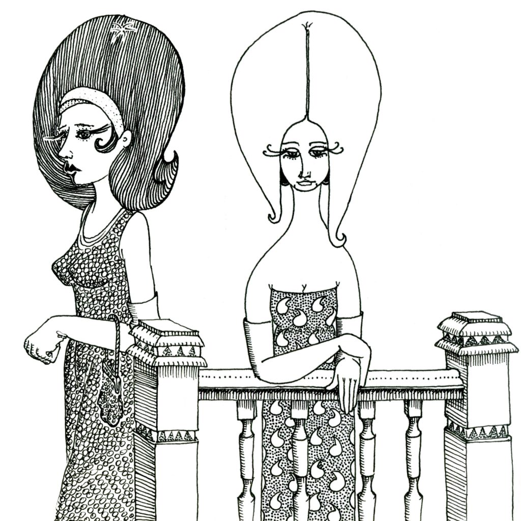 '50s Ladies' by Amber W Johnson