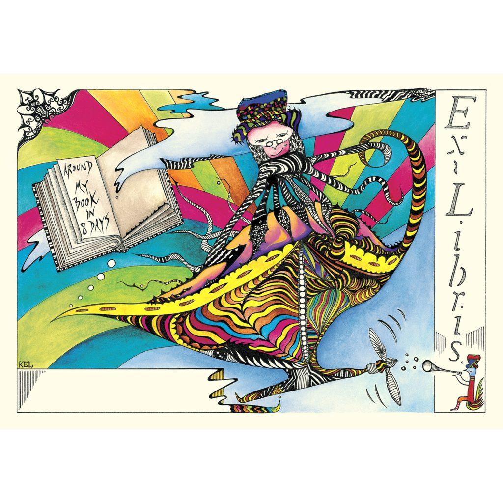 'Sir Octopus Ex-Libris Universal' by Kathryn Elisabeth Lovejoy