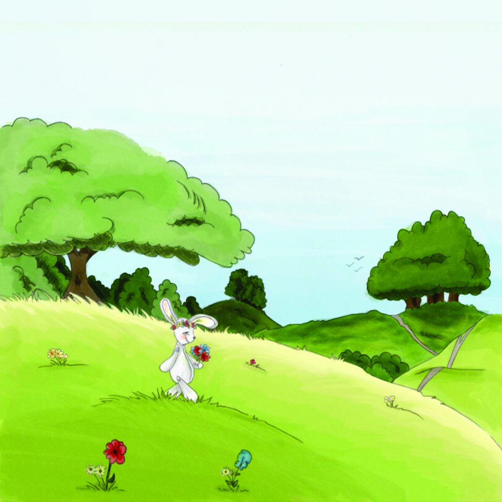 'Finding Your Happy Voice - Bunny in the Meadow with Kaden's Happy Voice' by Pauline Murphy