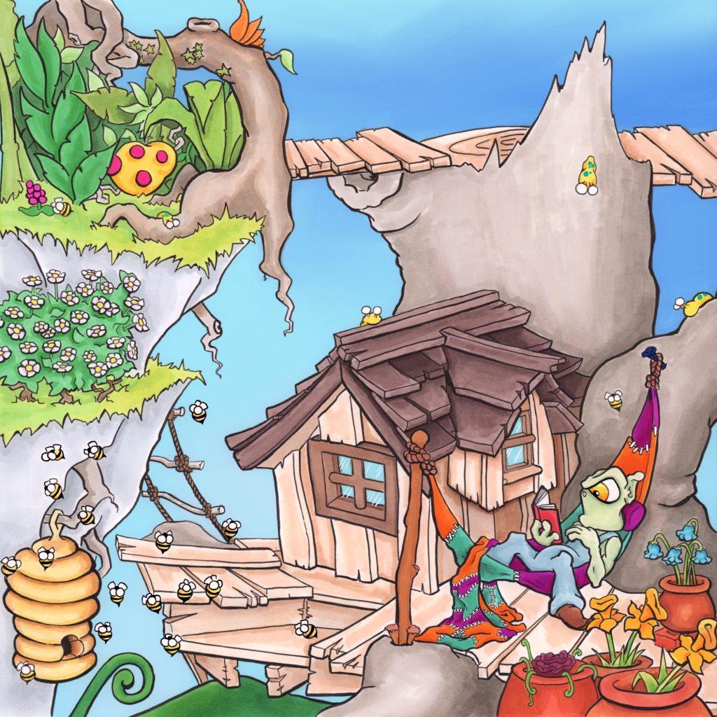 'Whoompa the troll pg2' by Gub Hart