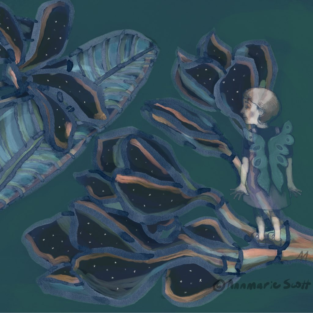 'I dreamt I had wings' by Annmarie Scott