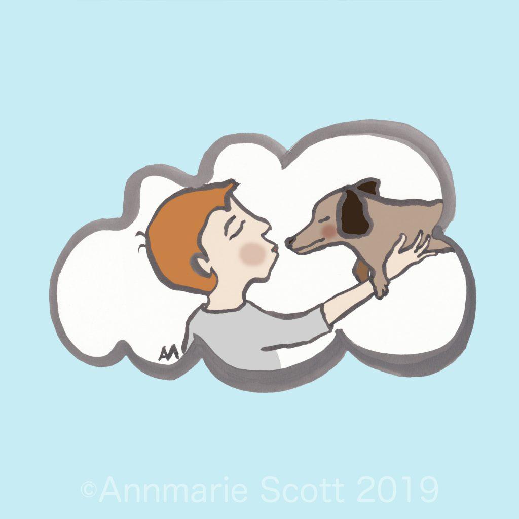 'Puppy love' by Annmarie Scott