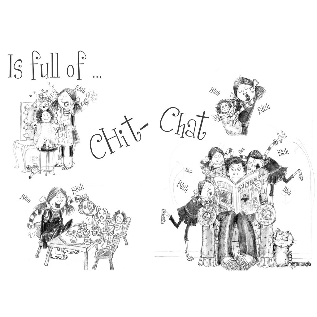 Full of Chit Chat by Cherie Dignam