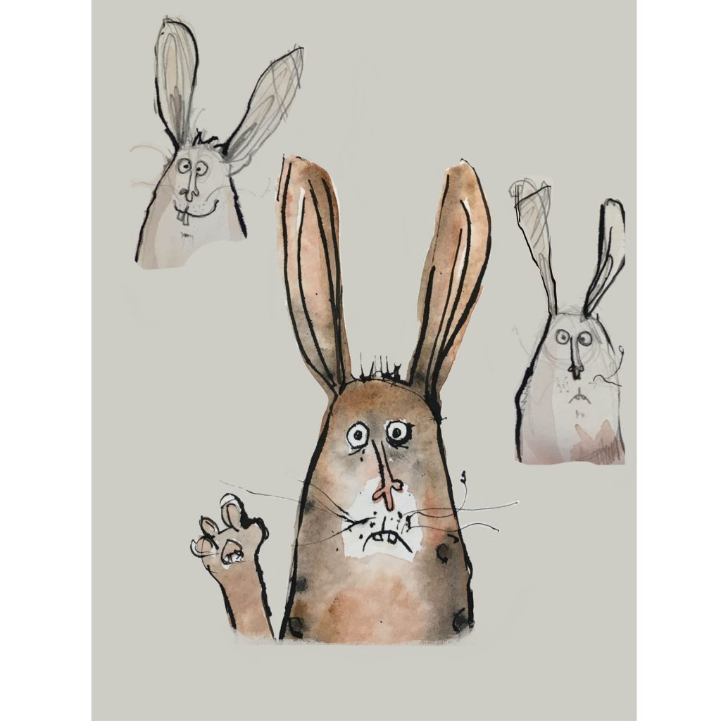 Wabbits by Cherie Dignam