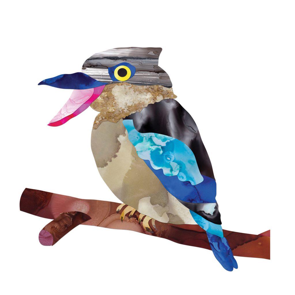 'Kookaburra' by Yvonne Mes