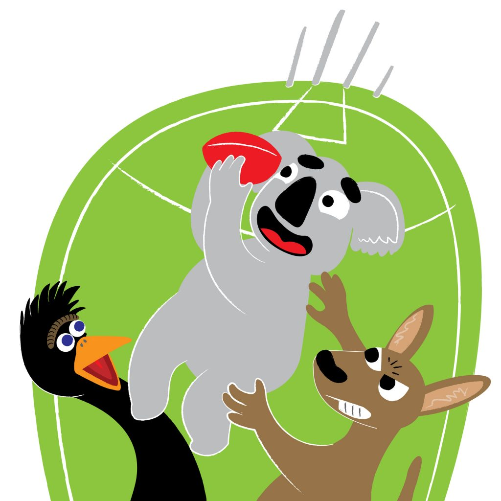 'Koala catch!' by Shane Smith