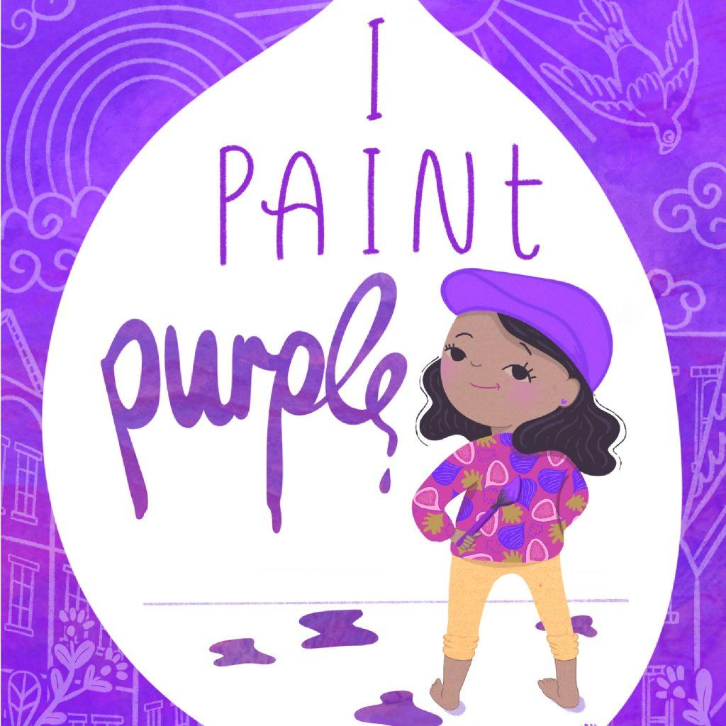 'I Paint Purple' by Catharine Harper