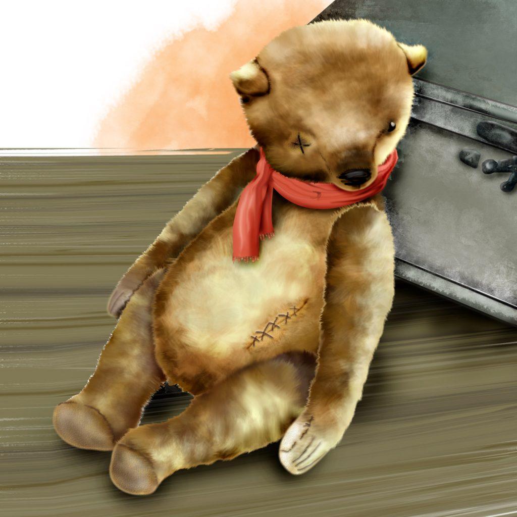 Old Teddy Bear by Nandina Vines