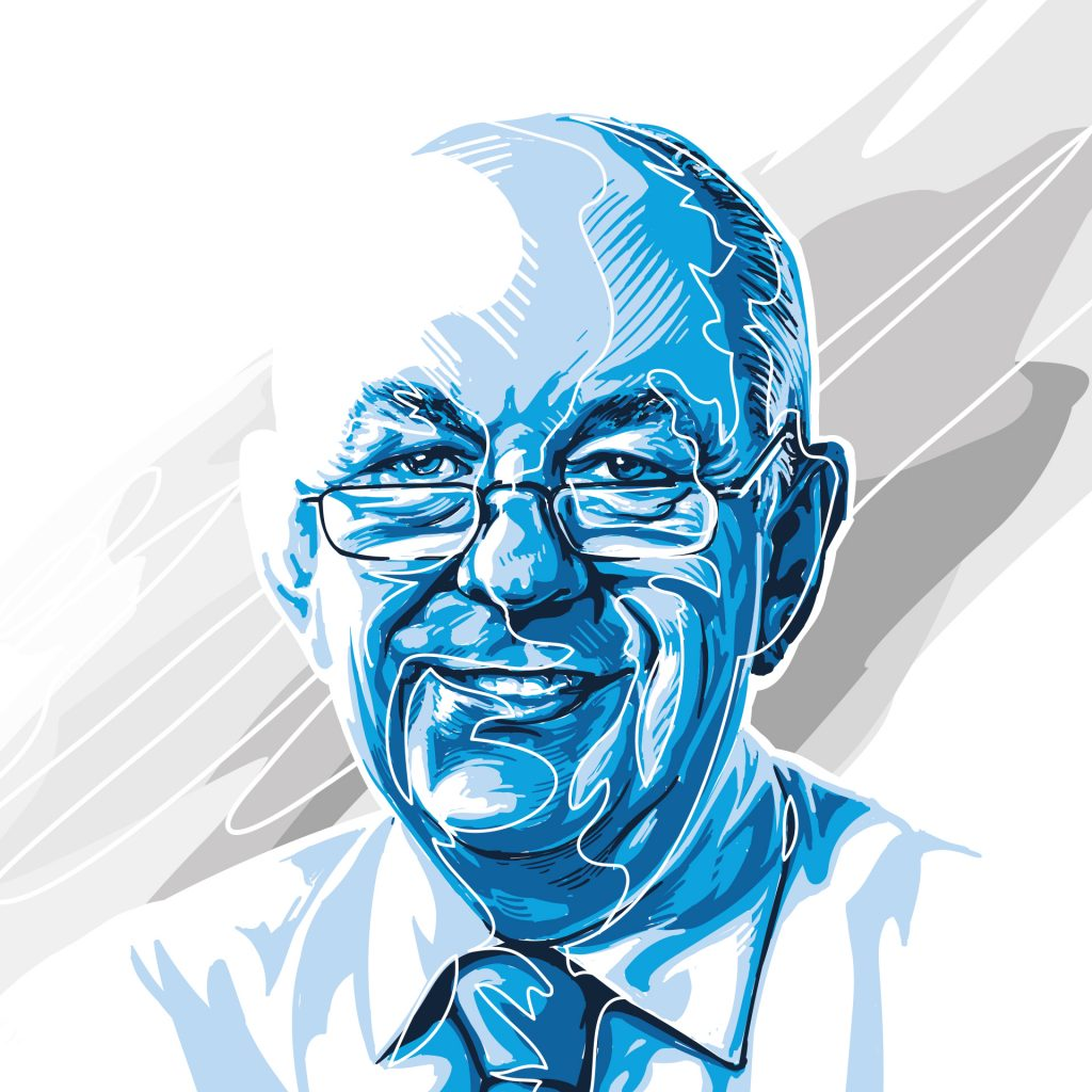 Economist - Donal Curtin by Angelo Vlachoulis