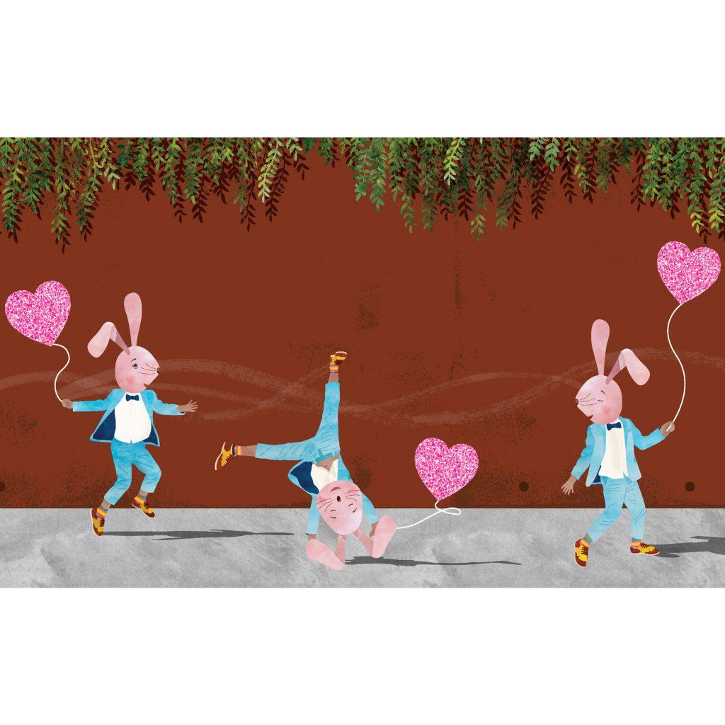 'My Happy Heart - Banjo Bunny' by Alarna Zinn