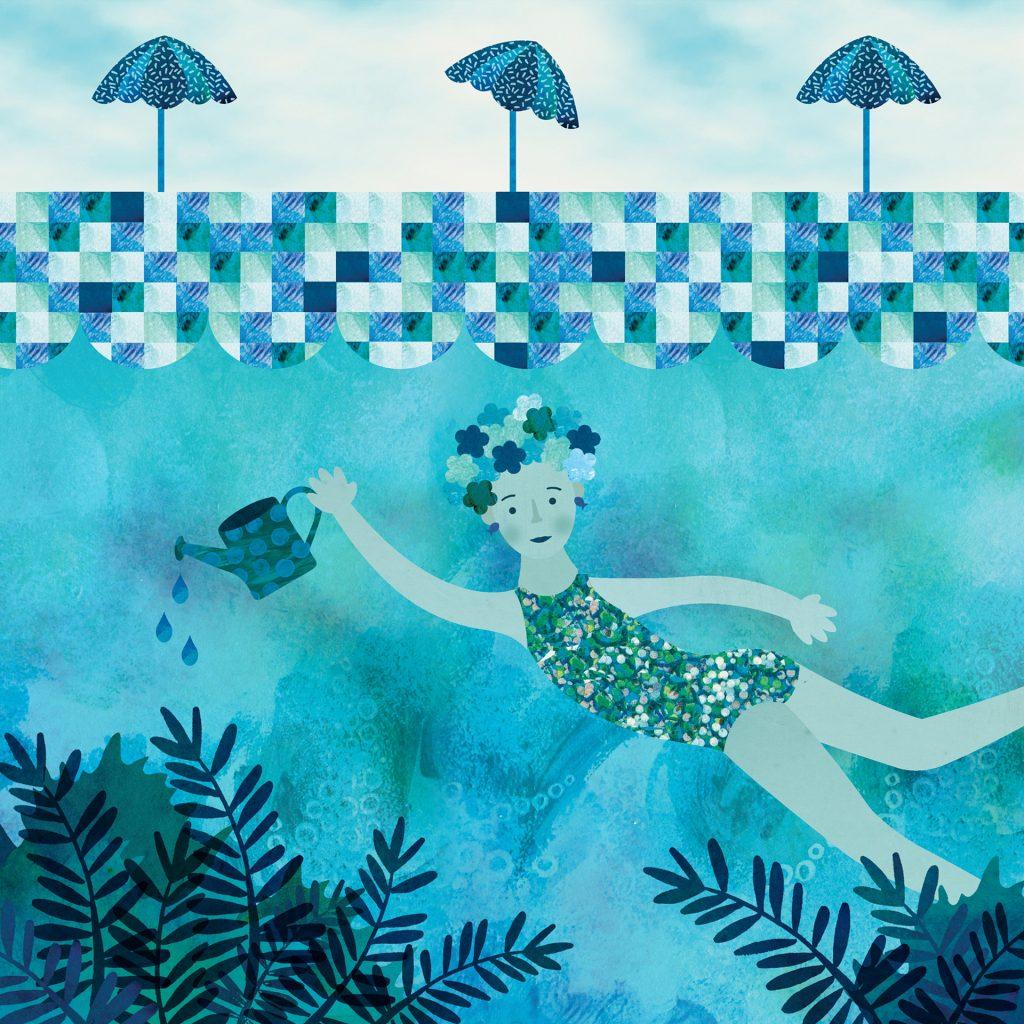 'Colour - Blue' by Alarna Zinn