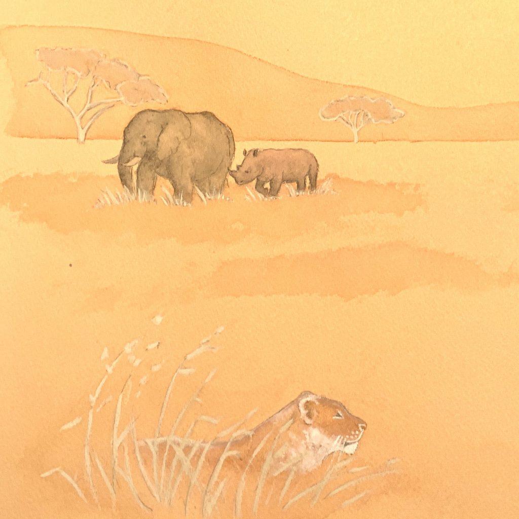 'Africa' by Lisa Stewart