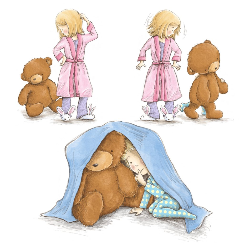 Time for Bed, from 'Take Ted Instead', illustrated by Amanda Francey