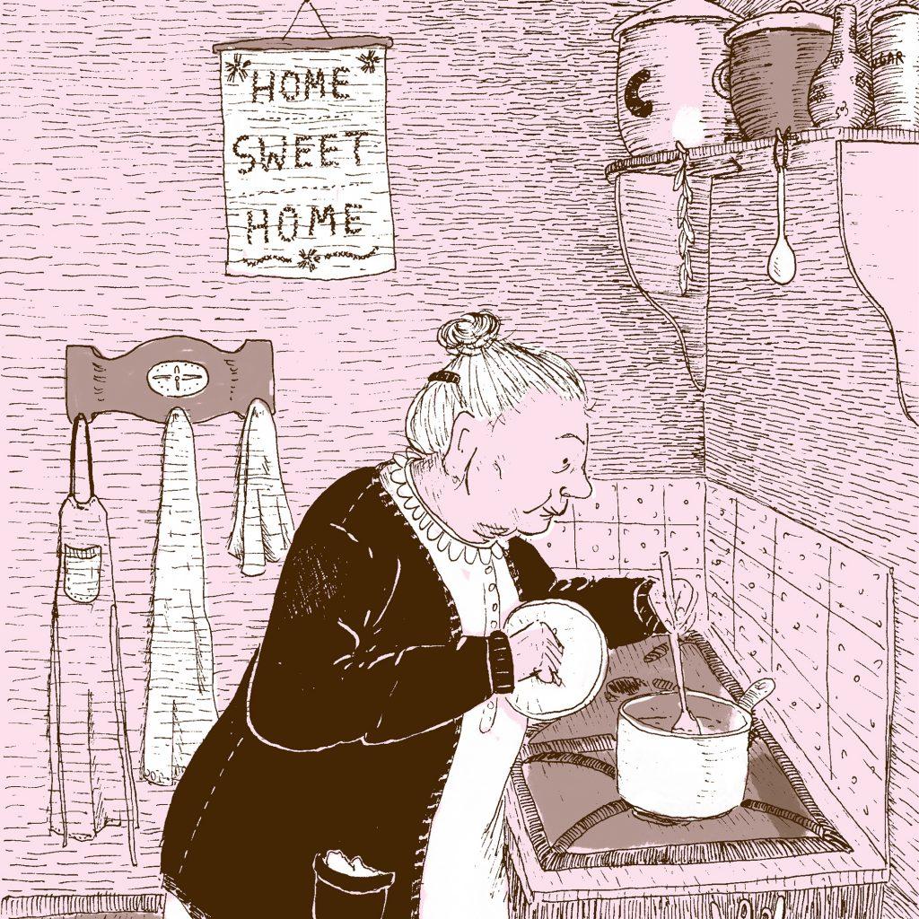 'Grandma in the Kitchen' by Anna Zobel