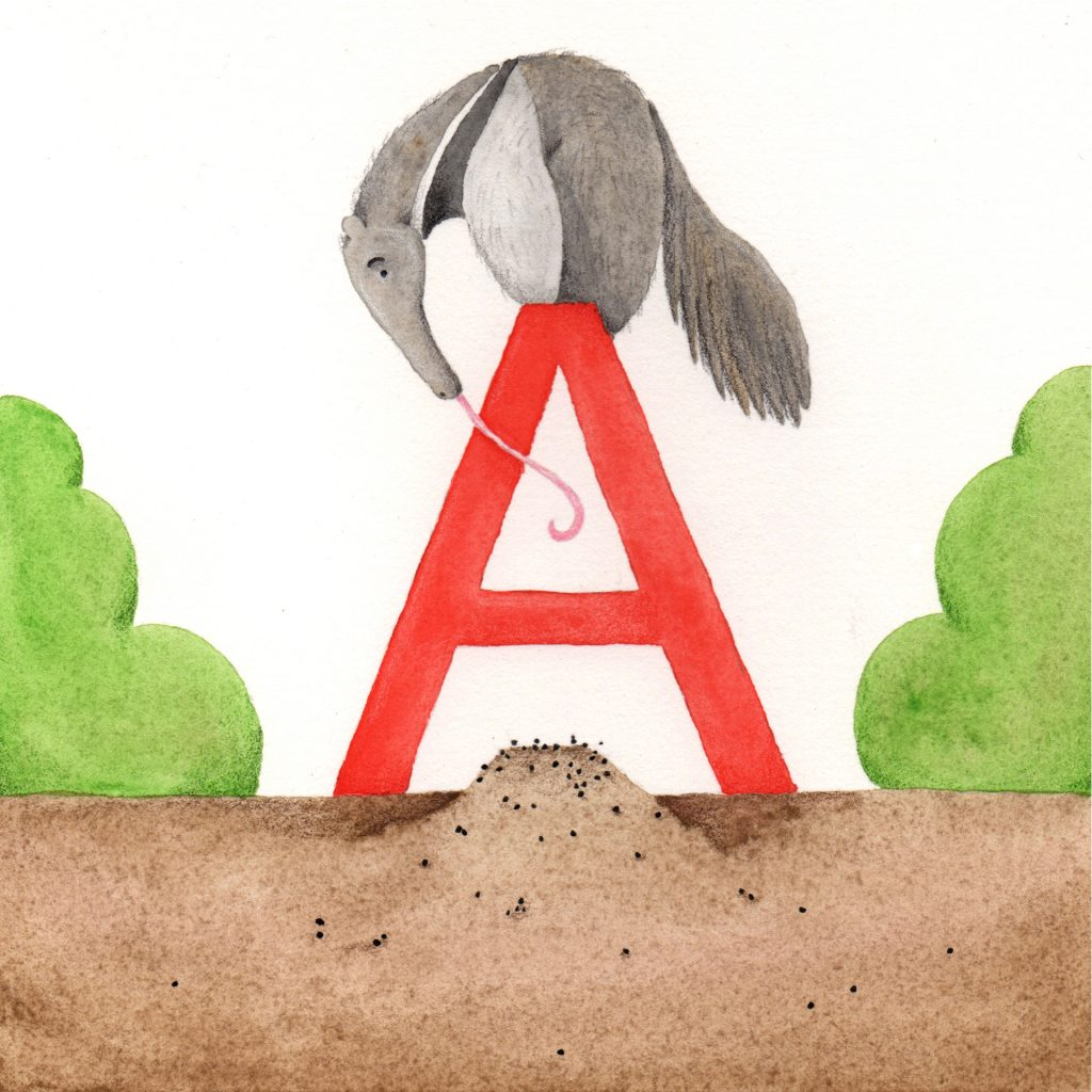 'A' by Annabelle Hale