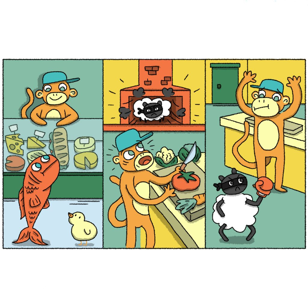'Animal Cheese Shop' by Arthur Hamer