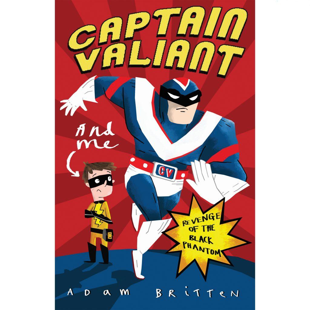 Captain Valiant #1 Book Cover illustrated by Arthur Hamer