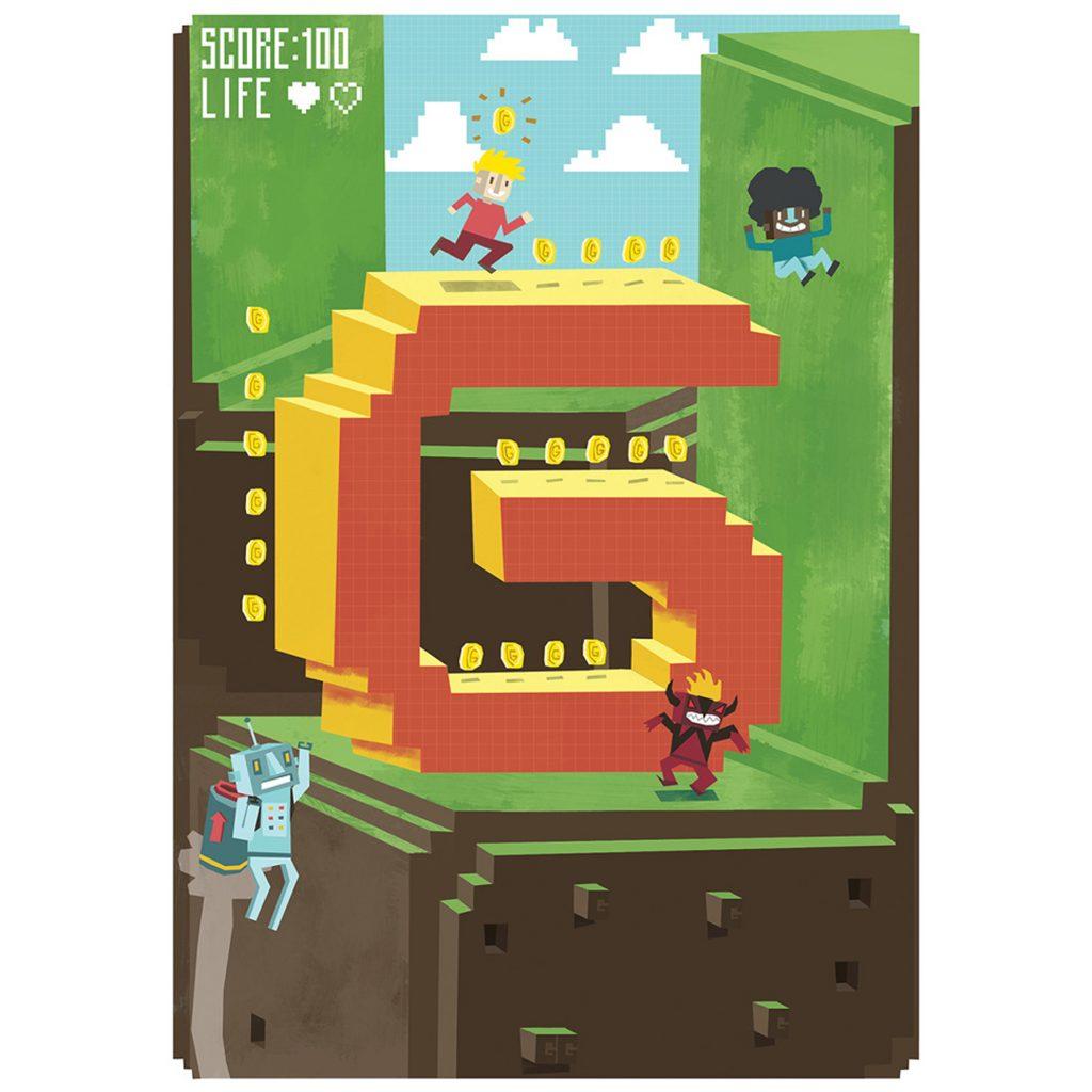 'G for Games' by Arthur Hamer