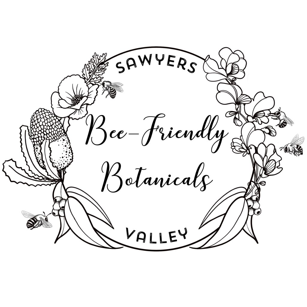 'Bee Friendly Botanicals Logo' by Sarah Davies