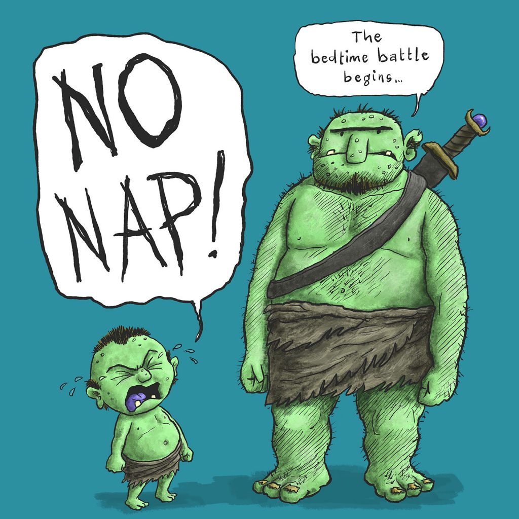 'No Nap!' by James Foley