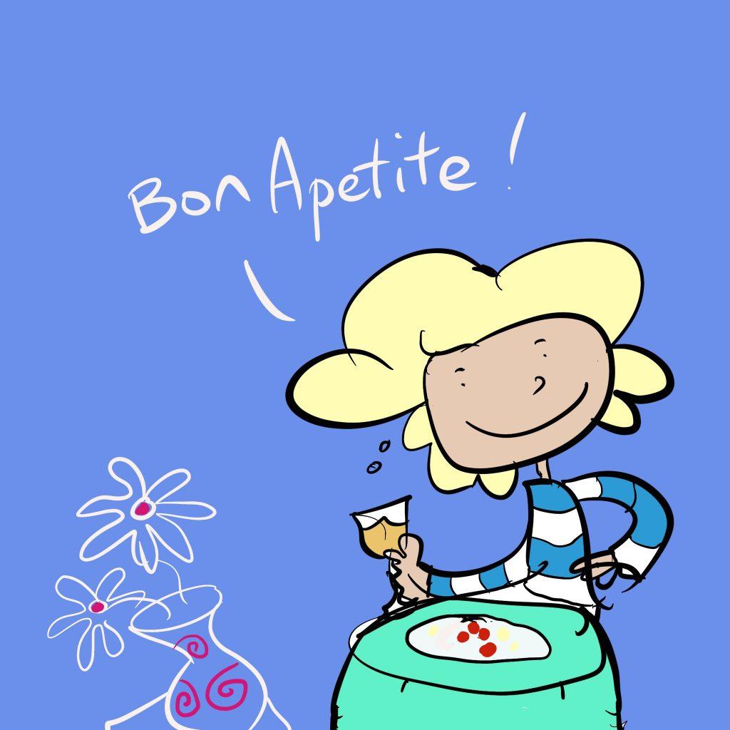 'Bon Appetite' by Bronwyn Hudson