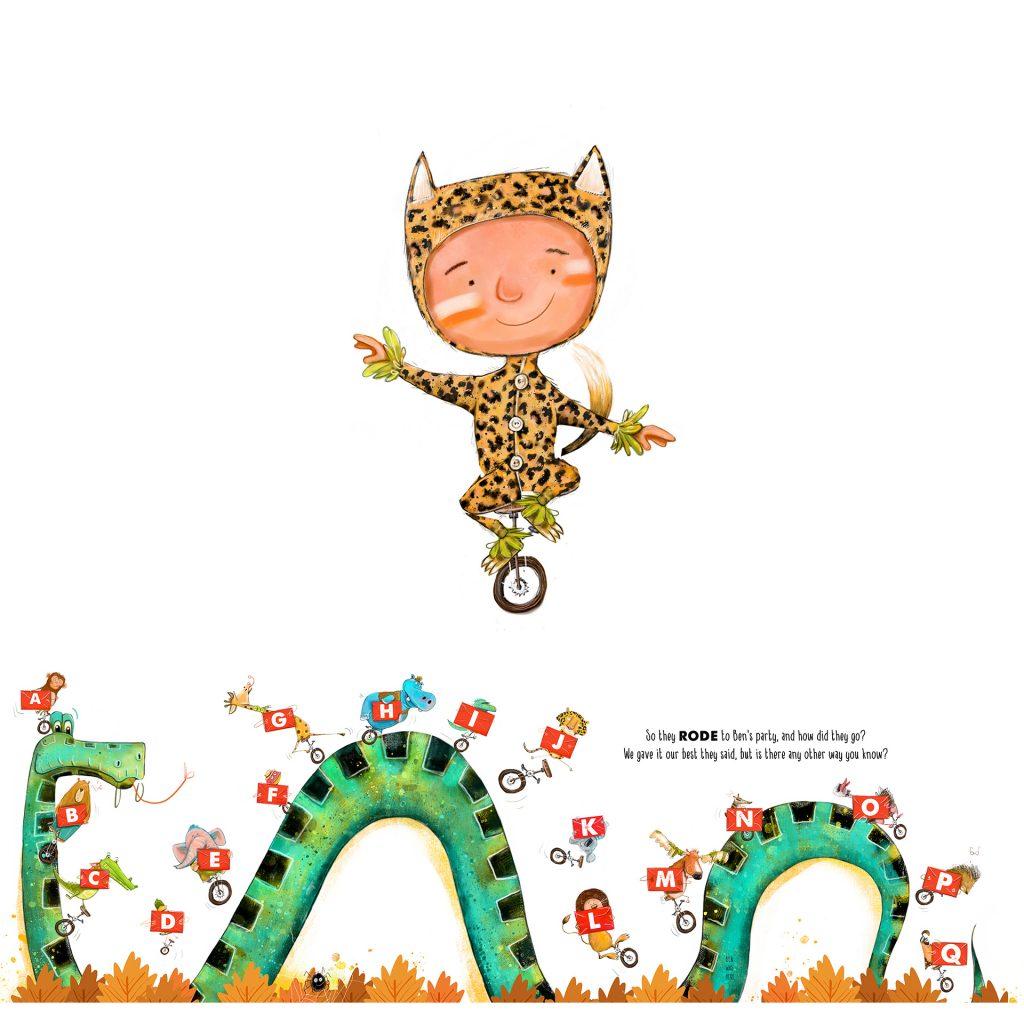 'ABC Jungle Book' illustrated by Brett Curzon