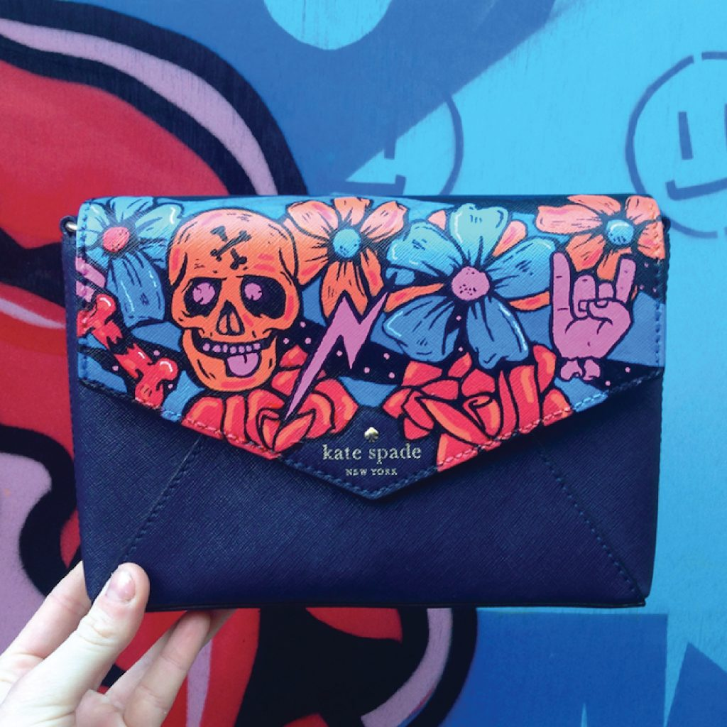 'Kate Spade collaboration' by Cara Jane Diffey