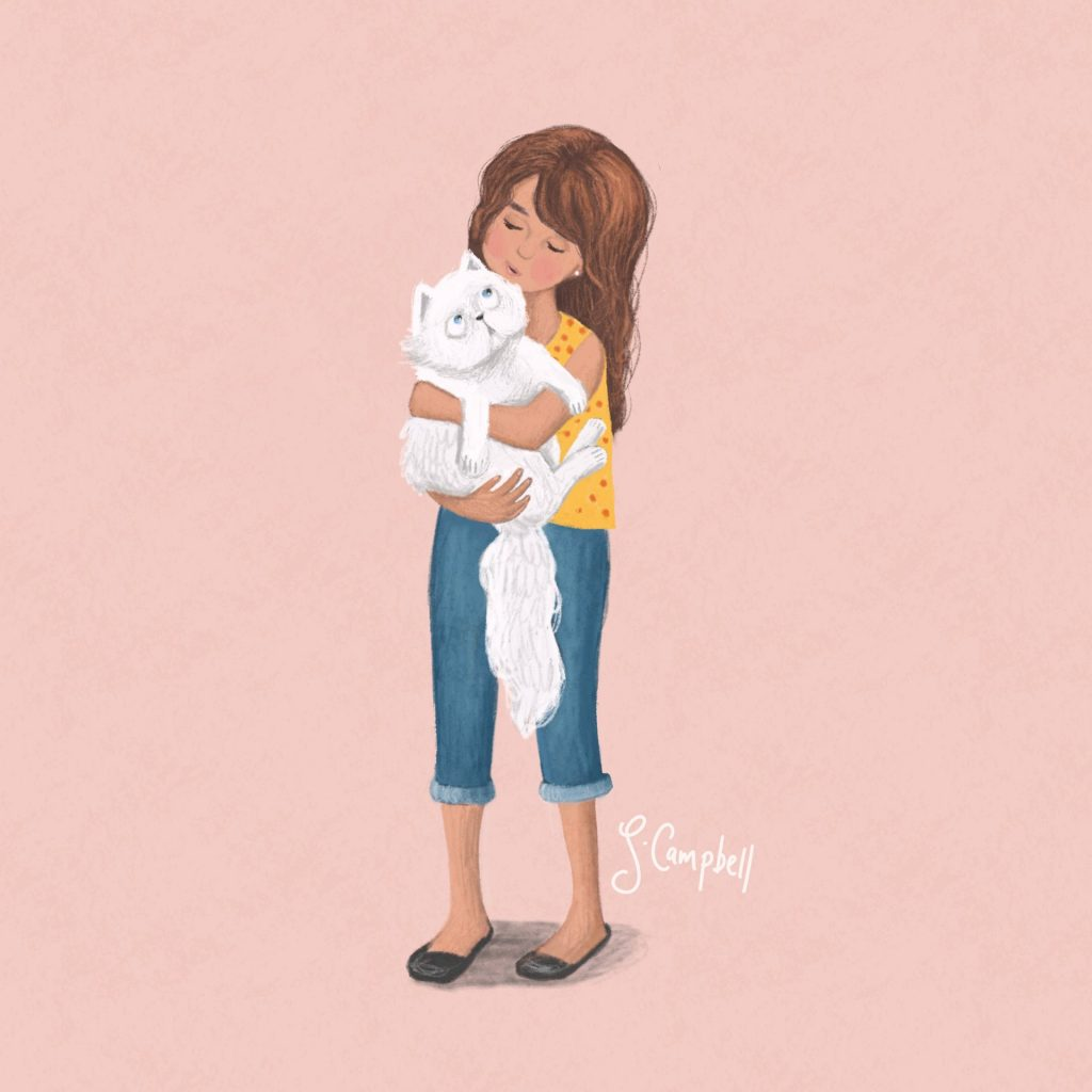 Cuddly Cat by Samantha Campbell