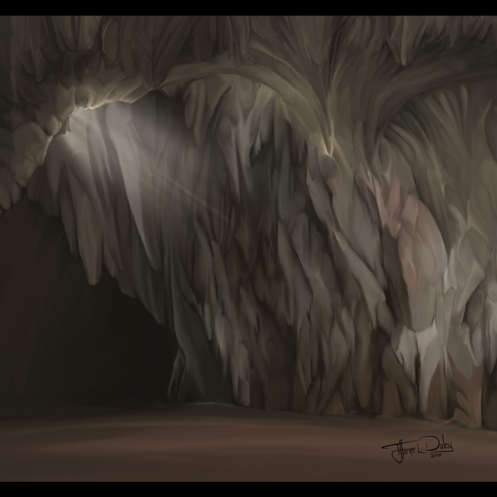 'Dragon Cavern' by Tiffanee Daley