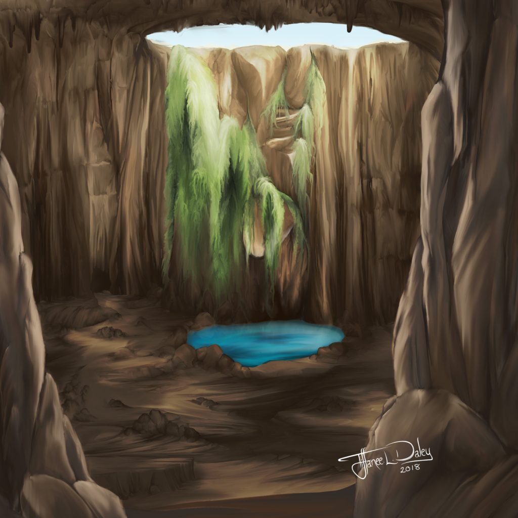 'Fantasy Cavern' by Tiffanee Daley