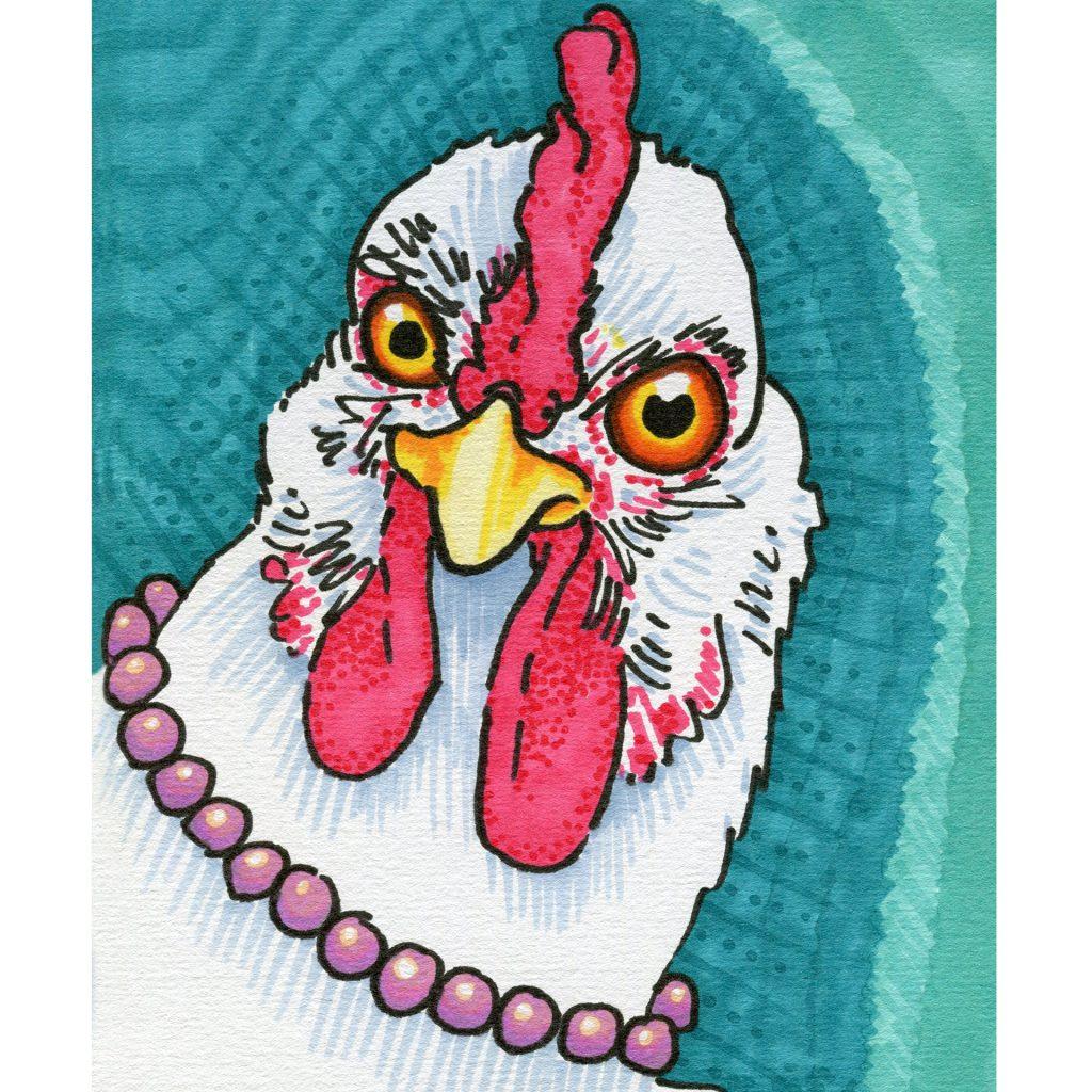 'Chicken Mama' by Amber W Johnson
