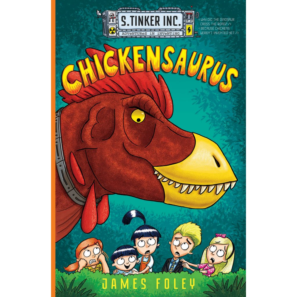 Chickensaurus (graphic novel cover)