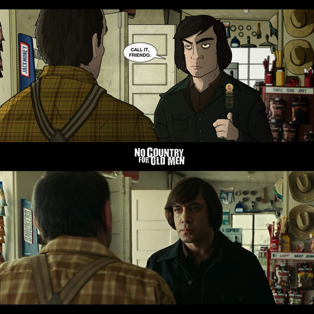 'No Country For Old Men Concept' by Jack Money