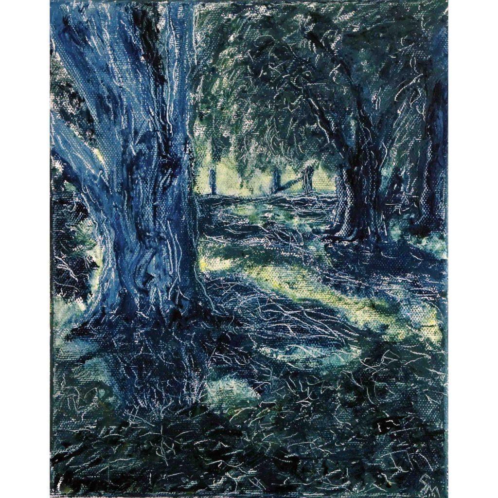 The Woods at Bundanon by Guy Morgan