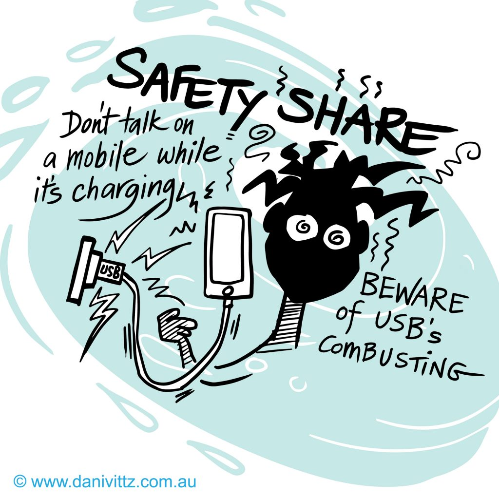 'Safety Share' by Dani Vittz