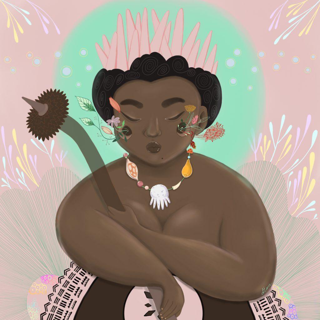 'Fijian Woman' by Danielle Tam