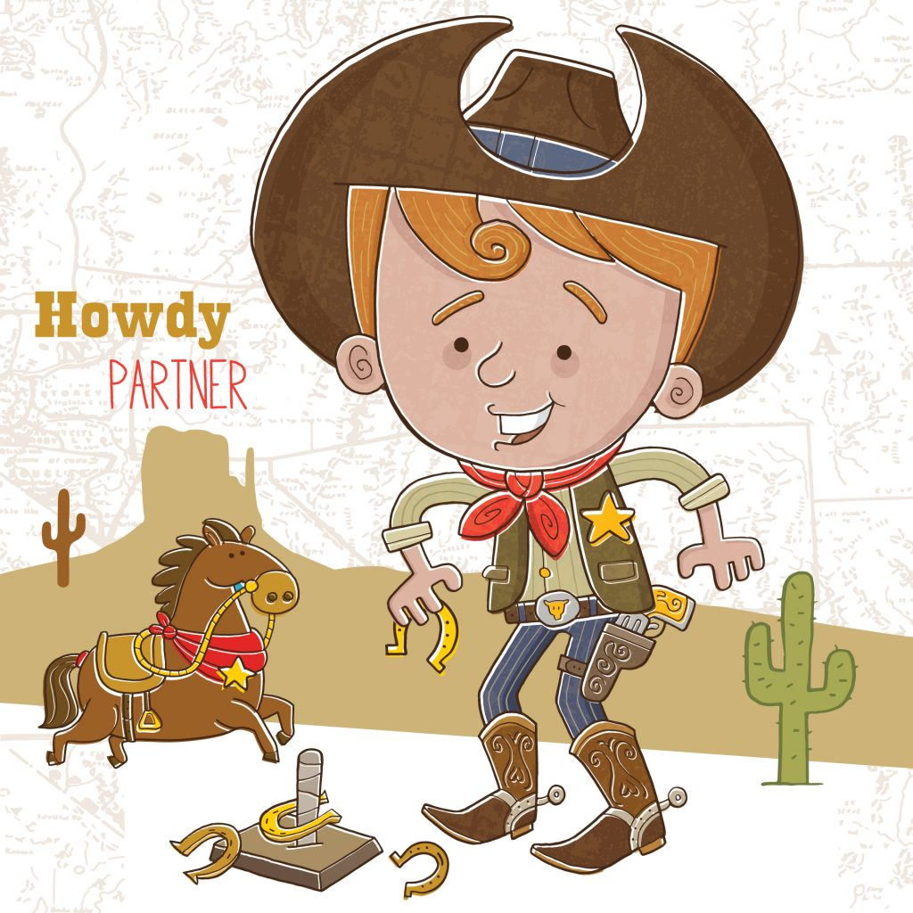 'Howdy Partner' by Vaughan Duck
