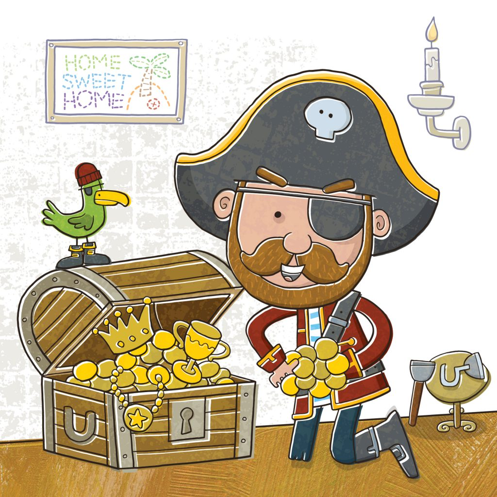 'The Greedy Pirate' by Vaughan Duck