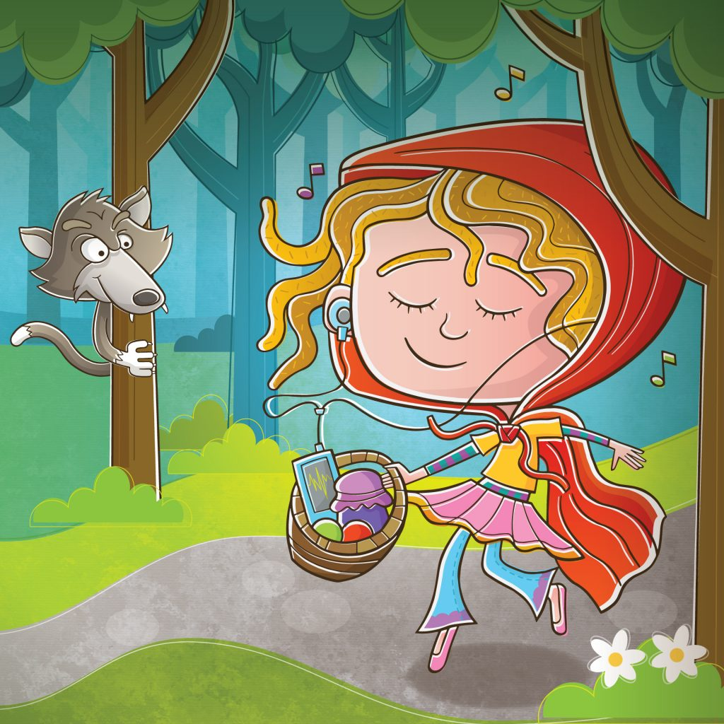 'Little Red Riding Hood' by Vaughan Duck