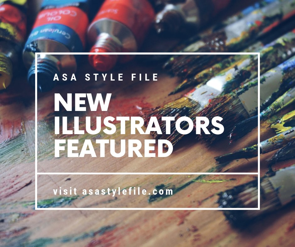 ASA Style File New Illustrators Featured