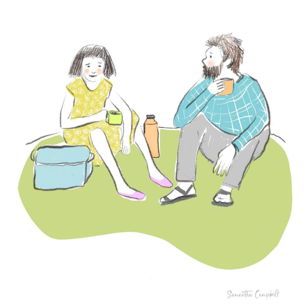 Thermos Break by Samantha Campbell